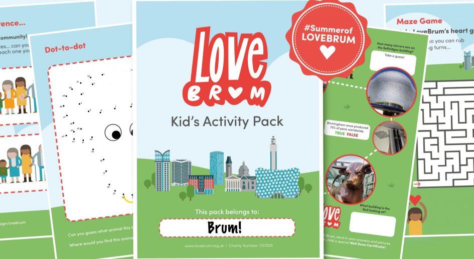 LoveBrum Kid's Activity Pack
